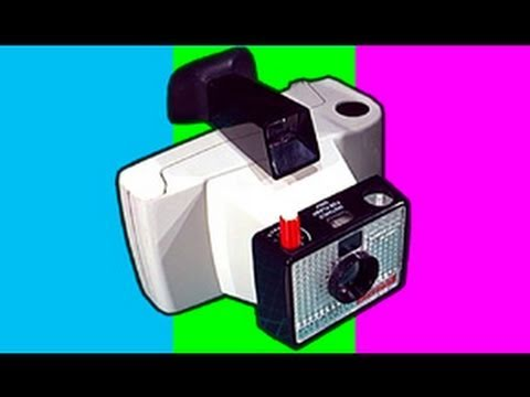 1967 Polaroid Swinger Camera Unboxing