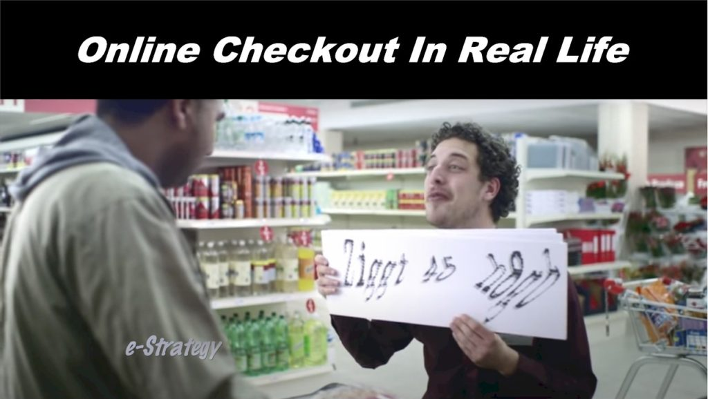 Online Checkout In Real Life