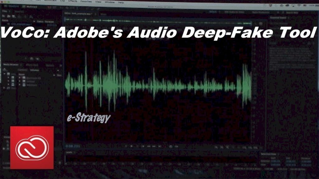 VoCo - Adobe's Audio Deep Fake Tool