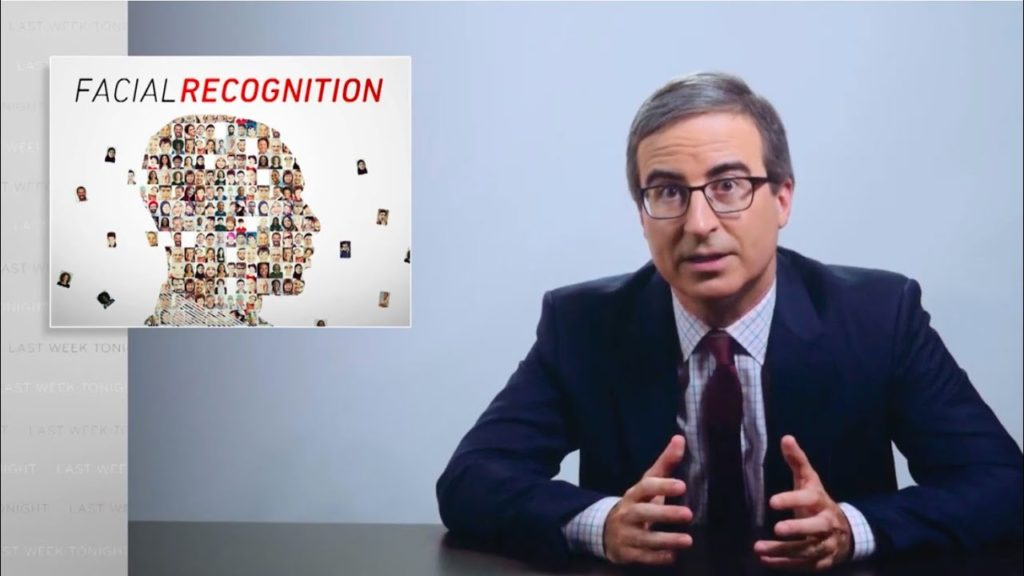 Facial Recognition - John Oliver